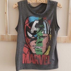 Marvel sleeveless tee